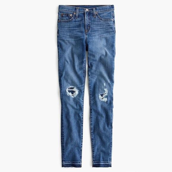 J Crew Distressed Jeans